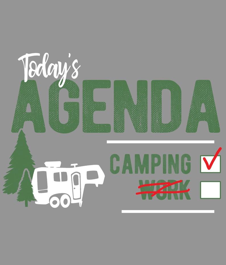 Mens Funny Hoodie Camping Campervan Obsessive Camper Disorder OCD