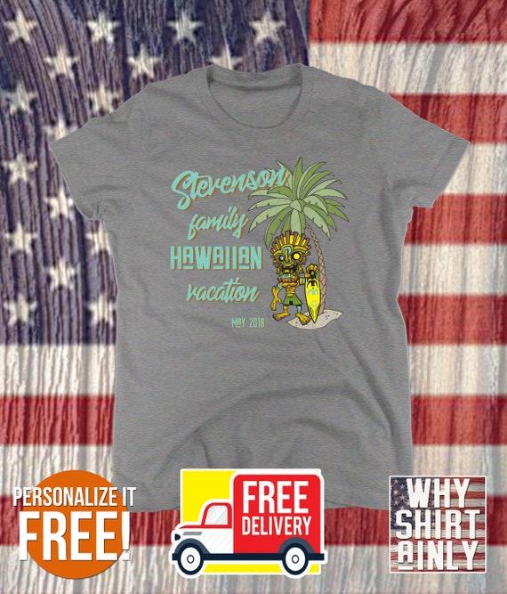 3b62edaf47b6 personalized vacation shirts hawaii t-shirts custom family | Etsy
