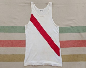 df529e54e 1920 s 30 s Rowing Team Tank XS S Small M Medium Antique 1920s 30s Vintage  Crew Team Rowers Uniform Athletic Gym Basketball Cotton 20s 20 s