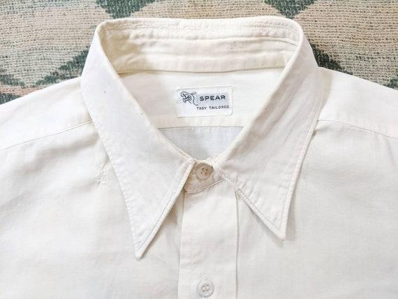 1940's Dress Shirt M Medium L Large Vintage 1940s