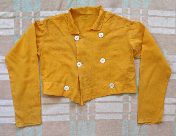 1930's Cropped Spring Jacket XS S Small Vintage 19
