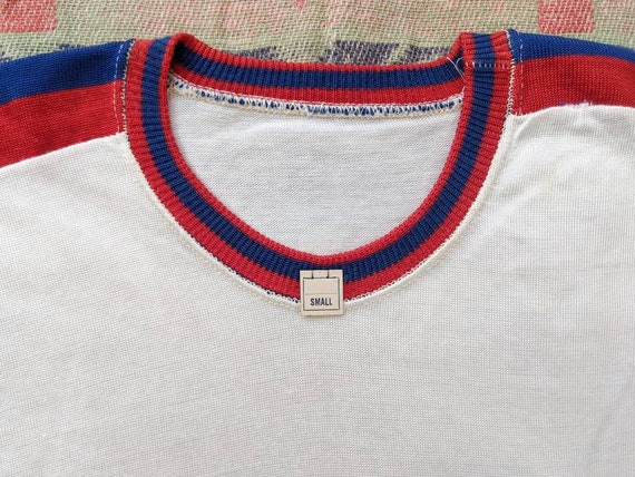 1950's Deadstock Rayon Tee XS S Small M Medium Vin
