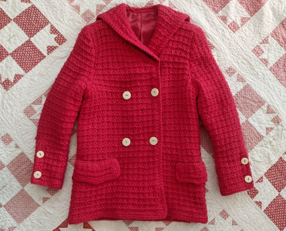 1960's does 1920's Shawl Collar Cardigan S Small M