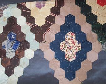 Antique Silk quilt