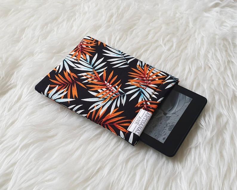 Orange leaves Kindle sleeve kindle pouch kindle protector image 0