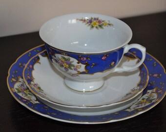 Vintage Sissy tea set trio