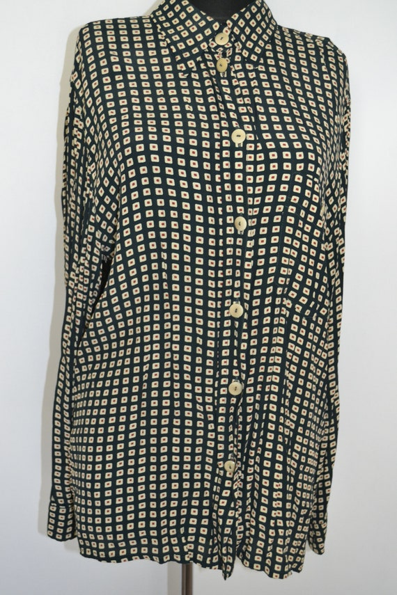 Vintage Betty Barclay blouse