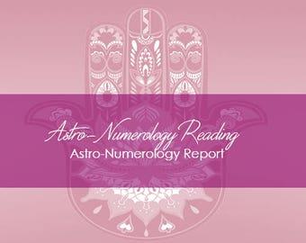 Astro-Numerology Reading