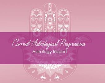 Current Astrological Progressions