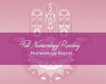 Full Numerology Reading