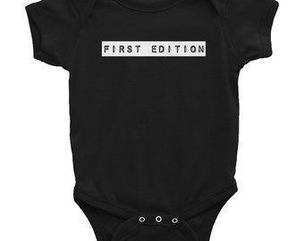 First Edition - Type Set - Infant Bodysuit