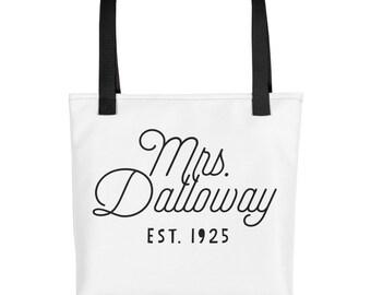 Mrs. Dalloway - Woolf Classic Novel - Book Tote bag