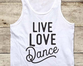 0ee90a1a126d Youth dance tank