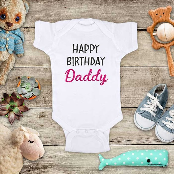 Happy Birthday Daddy Mommy Teal Or Pink Design Surprise