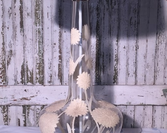 Large Flower Mid Century Modern Table Lamp