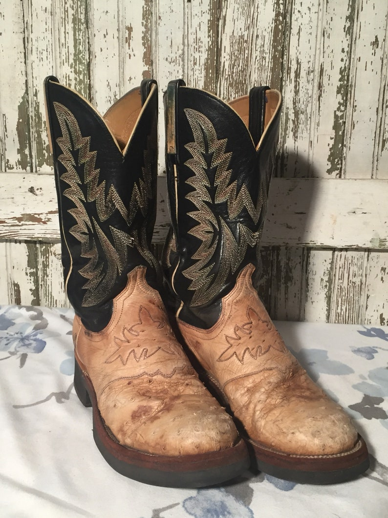 6ba559b7429 Vintage Lucchese Boots mens size 7D