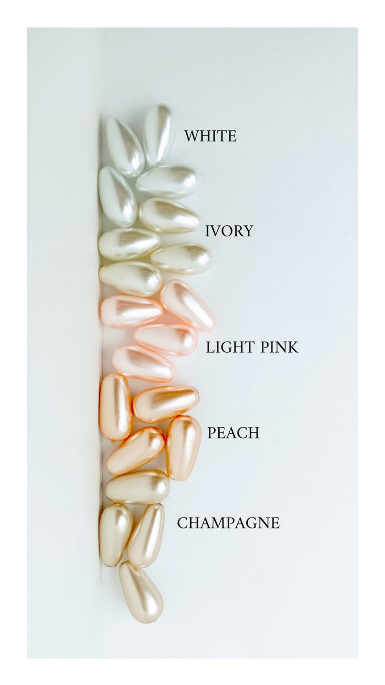 Pink Bridal Ivory Flower Floral Teardrop Champagne Pearl Drop Three Tier Rose Gold Flower Dangle with Blush Bridesmaid Earring