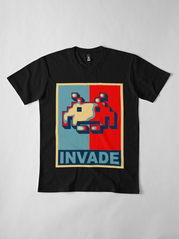 Invade T-shirt for Adults or Kids - All Sizes