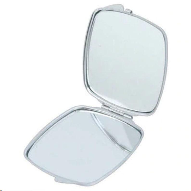 Black Art Pocket Mirror African Woman Headdress Compact Mirror Compact Mirror African Inspired Compact Mirror