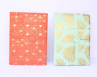 Writing paper stationary letter paper set 10 sheets with envelope lokta paper jungle leaf or edges graphic design handmade