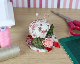 Pin Cushion / Sewing Gift / Sewing Accessory / Craft tool / Handmade hat / Sewing tool / Pincushion / Creative gift to a creative person