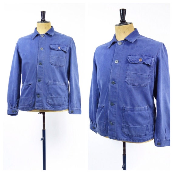 Original Vintage 1950s French Workwear Jacket - image 1