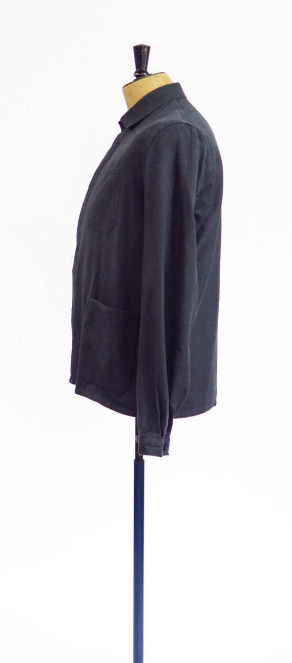Original Vintage 1950s French Workwear Jacket - image 4