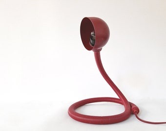 ca Vintage snake lamp inspired by Isao Hosoe Made in The Netherlands 1970s
