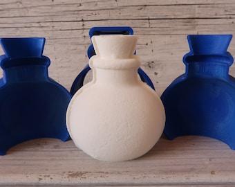 Round Bottle Bath Bomb Mold