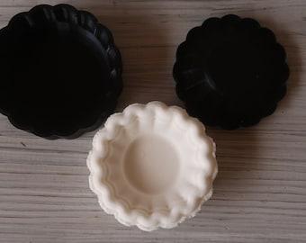 Empty Pie Shell Bath Bomb Mold