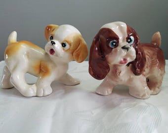 pair of vintage pups