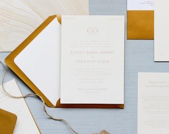 Semi-Custom Kindred Invitation Suite