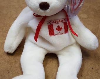 0310ffaa053 Original Rare Ty Beanie Baby Maple 1996 Bear
