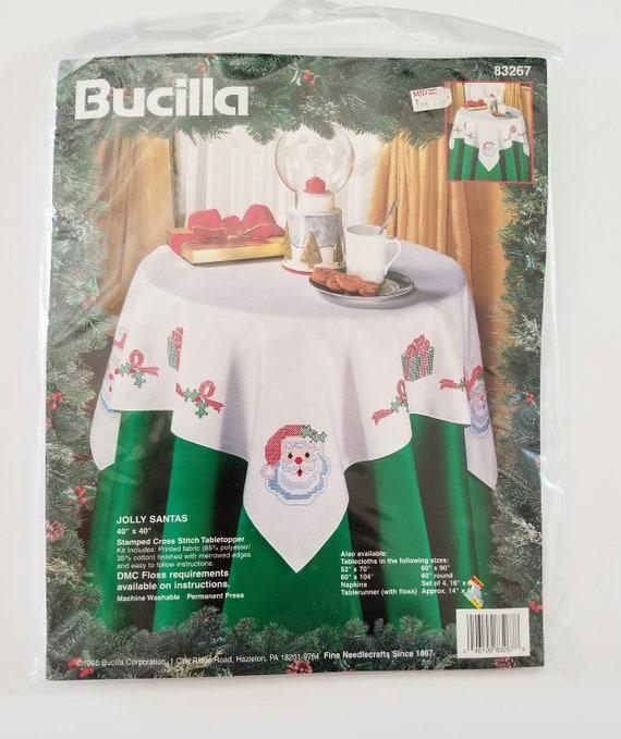 Cross Stitch Bucilla Jolly Santas