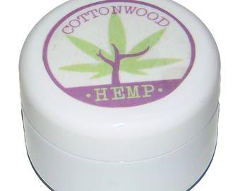 Lavender, Frankincense Scent Natural Hemp Oil Body / Hand Butter Balm, 3.15 oz. Extremely Intensive Moisturizer Homemade Vegetarian