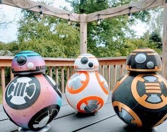 BB-Model Droid Replica - BB-8 - Star Wars Droid Prop - Customizable Colors