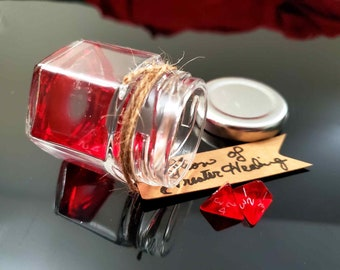 Dungeons and Dragons Potion of Healing - Greater Healing - Superior Healing - Supreme Healing - Individual Bottles or Full Set