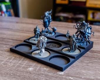 Kingdom Death Monster Miniature Display   Miniature Display Stand   Amiibo Stand   (50mm Miniatures)
