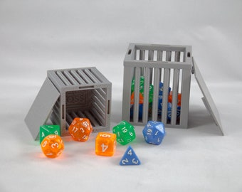Dice Jail 25 or 10 pcs Standard Dice Set   Dice Jail for Your Party   Dungeons and Dragons Dice Jail