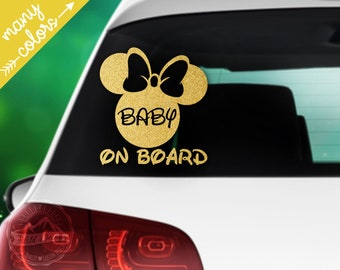 Little Ladies On Board Car Sticker Child Baby On Board Window Bumper Decal
