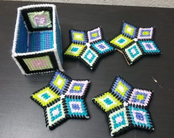 Star Coasters with box