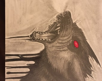 Red-Eyed Wolf