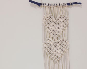 Macrame wall hanging 'Tiger Lily'