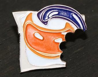 Tide PODs Bitemark Lapel Pin/Hat Pin