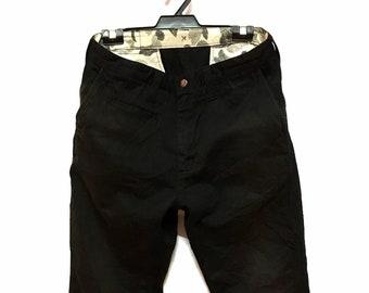 8a1f87a3ea72 A Bathing Apes Bape Japanese Streetwear Short Cropped Chinos Khakis Cargo  Pant
