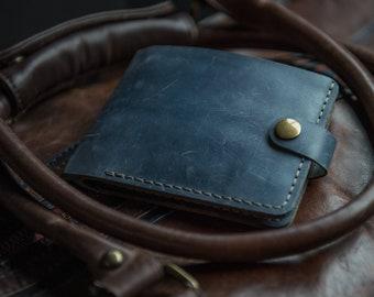 Bi-fold wallet Handy wallet Brown bifold Blue bifold wallet Designed wallet man Bi fold slim wallet High quality wallet Bi fold card holder