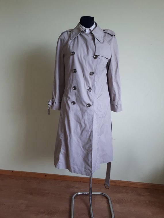 Vintage woman rain coat
