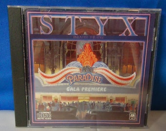 "050618 07 Used Styx ""Paradise Theater"" CD A & M CD-3240"