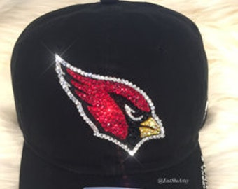 Arizona Cardinals Hat Made with SWAROVSKI® Crystals