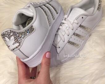 adidas superstar glitter grijs